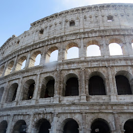 The Colosseum by Maricor Bayotas-Brizzi - Buildings & Architecture Public & Historical