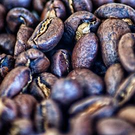 coffee roast bean by Hartono Wijaya  - Food & Drink Fruits & Vegetables ( toraja, macro, sulawesi, macro photography, indonesia, beans, coffee, fruits, plants, vegetables, fruits and vegetables, roasted, close up )
