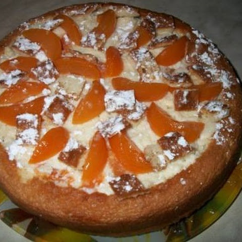 Sponge Cake With Canned Fruit