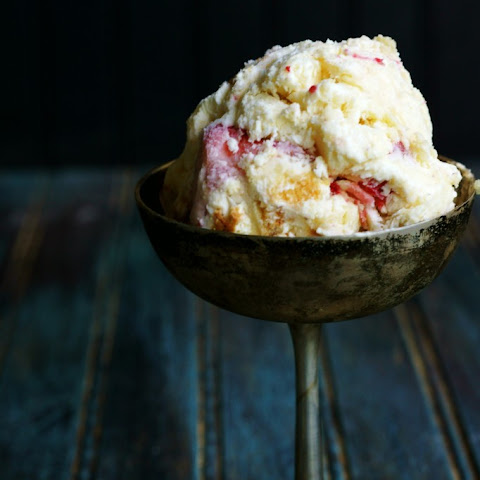 Strawberry Shortcake No Churn Ice Cream