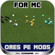 Ores PE Mods For MC