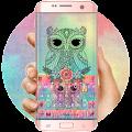 App Colorful Owl Keyboard Theme APK for Windows Phone