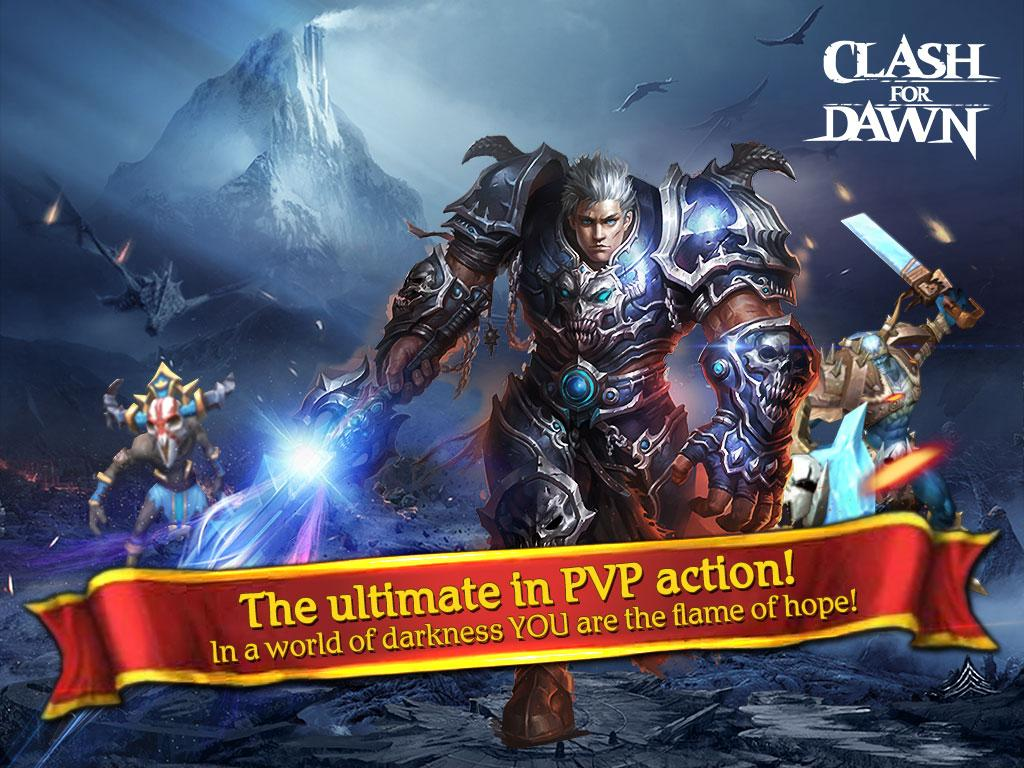 Clash for Dawn: Guild War Screenshot 5