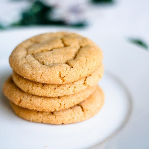 Chewy Peanut Butter Cookies