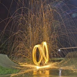 by Mike Ross - Abstract Light Painting