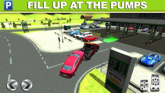 Gas Station Car Parking Game APK