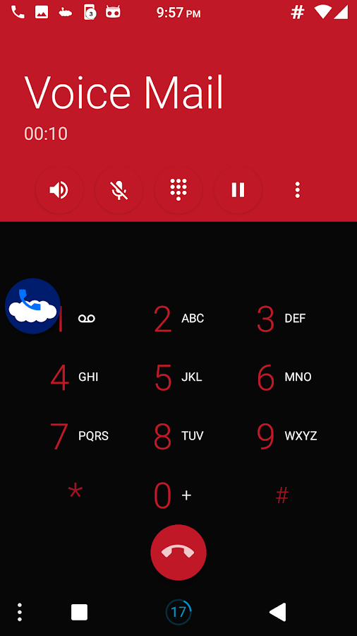 Floating Action Call Screenshot