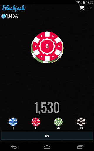 Blackjack for Chromecast - screenshot