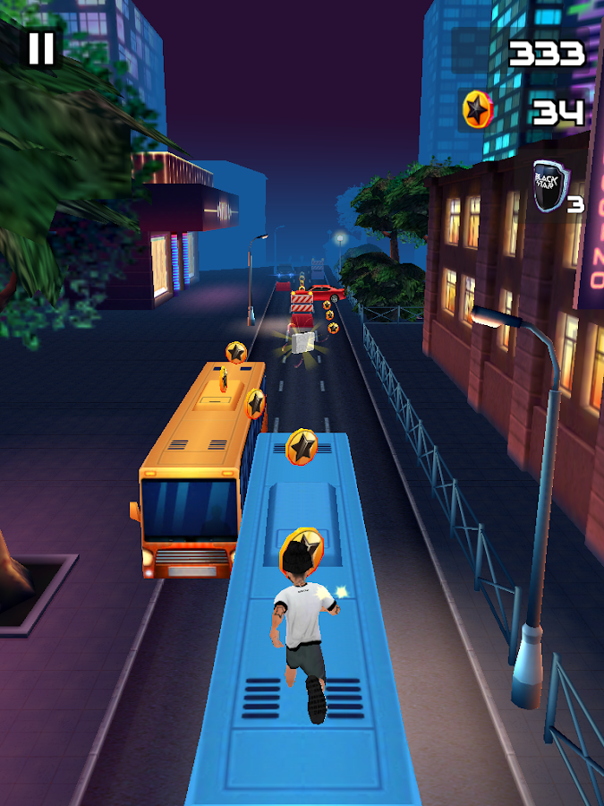 Black Star Runner Screenshot 7