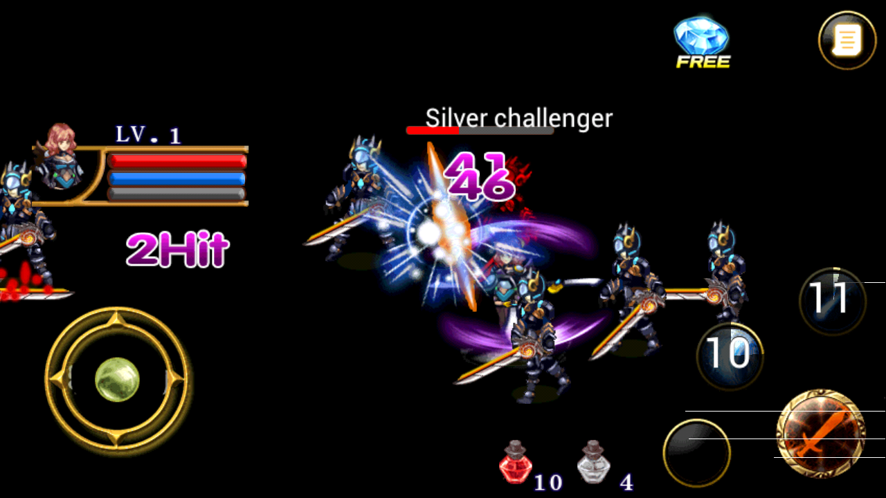 Lost Kingdom Dragon Knights Screenshot 1