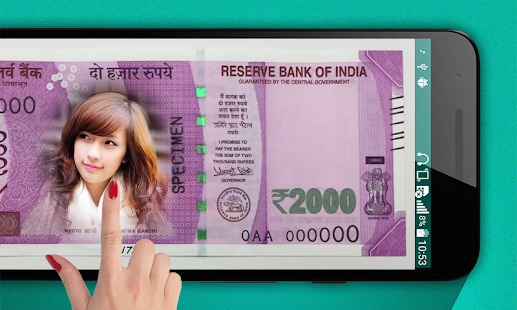 App New Currency NOTE Photo Frame APK for Kindle