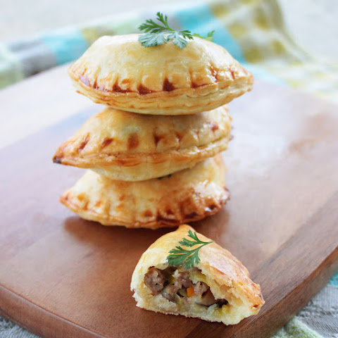 Easter Empanadas with Lamb and Mushroom filling