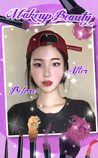 make-up filters for pictures - screenshot