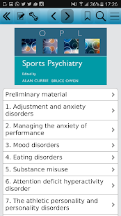 Sports Psychiatry screenshot for Android
