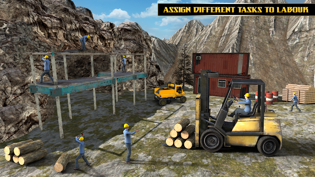 Highway Tunnel Construction & Cargo Simulator 2018 APK screenshot thumbnail 5