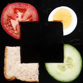 by Lajos Nyikos - Food & Drink Plated Food