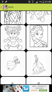 coloriage de la reine- screenshot thumbnail