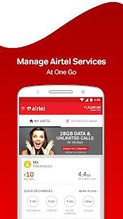 App My Airtel-Online Recharge, Pay Bill, Airtel UPI APK for Windows Phone