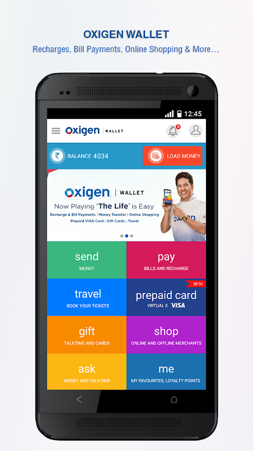 Oxigen Wallet- Mobile Payments Screenshot 0
