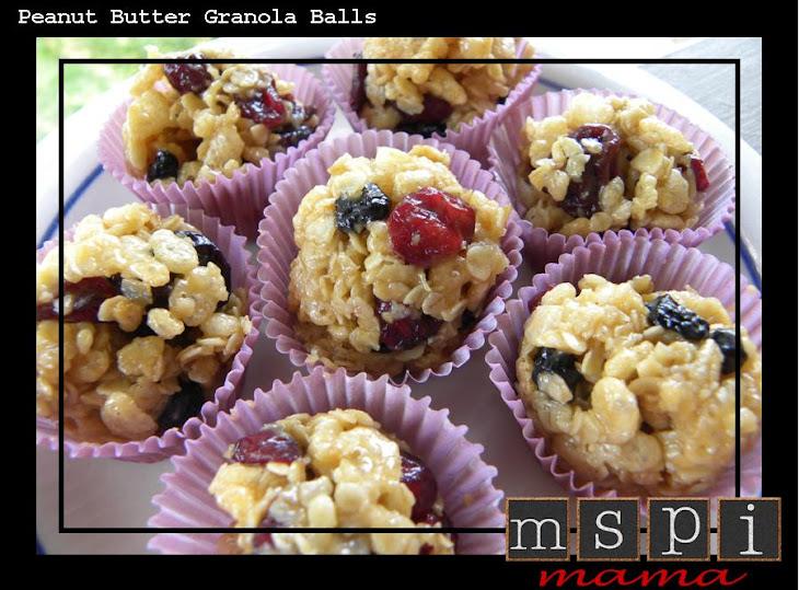 Peanut Butter Granola Balls Recept | Yummly