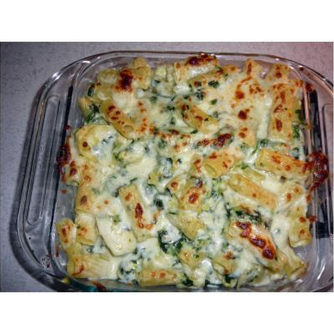 Baked Penne With Spinach and Artichokes