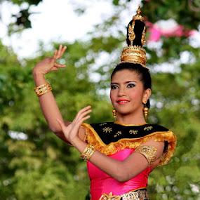 Lam Thai Dancer by Lolit Cabilis - People Portraits of Women