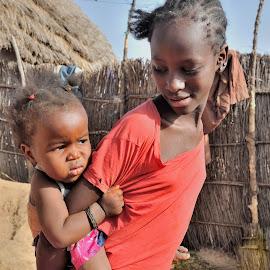 by Tomasz Budziak - Babies & Children Babies ( baby girl, children, baby, africa,  )