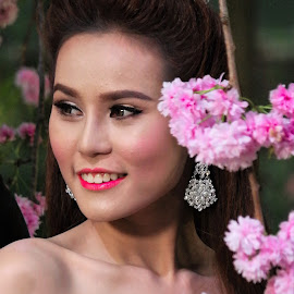 Beautiful Bride by Koh Chip Whye - Wedding Bride ( best female portraiture )