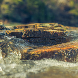 Flow by Phillip Gandy - Nature Up Close Water ( water, sony, little, alabama, canyon creek, rocks, river,  )