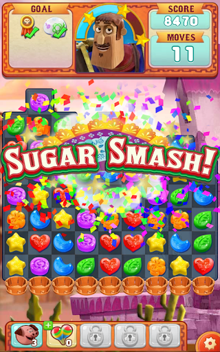 Sugar Smash: Book of Life - Free Match 3 Games. screenshot 12