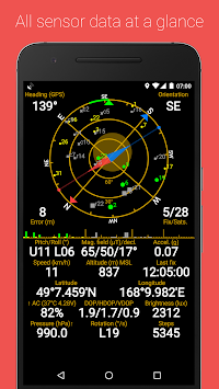 GPS Status & Toolbox APK screenshot thumbnail 1