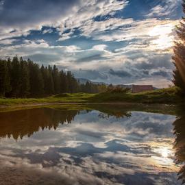 Mountain pond by Stanislav Horacek - Landscapes Mountains & Hills