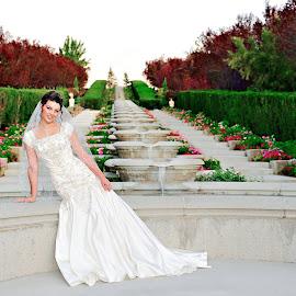 by Melissa Papaj - Wedding Bride ( girl, bridal, female, woman, wedding, bride )