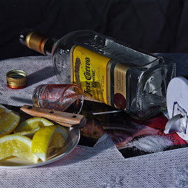 It's Over by Kyric Designs - Food & Drink Alcohol & Drinks ( drinking, tequila, shots, bottle, liquor )