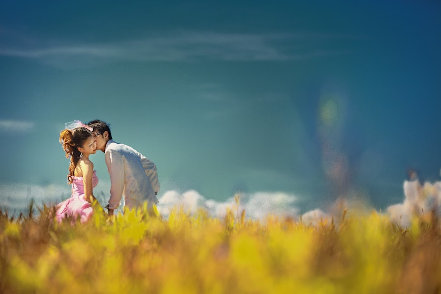 Lovely Couple by Voon Kiun Fui - Wedding Bride & Groom ( wedding )