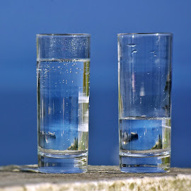 Glasses of  water by Ciprian Apetrei - Food & Drink Alcohol & Drinks ( glasses, artistic objects, bokeh )