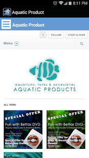 Aquatic Products - screenshot