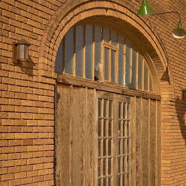 No Entrance  by Jeff Brown - Buildings & Architecture Architectural Detail ( building, door, architecture )