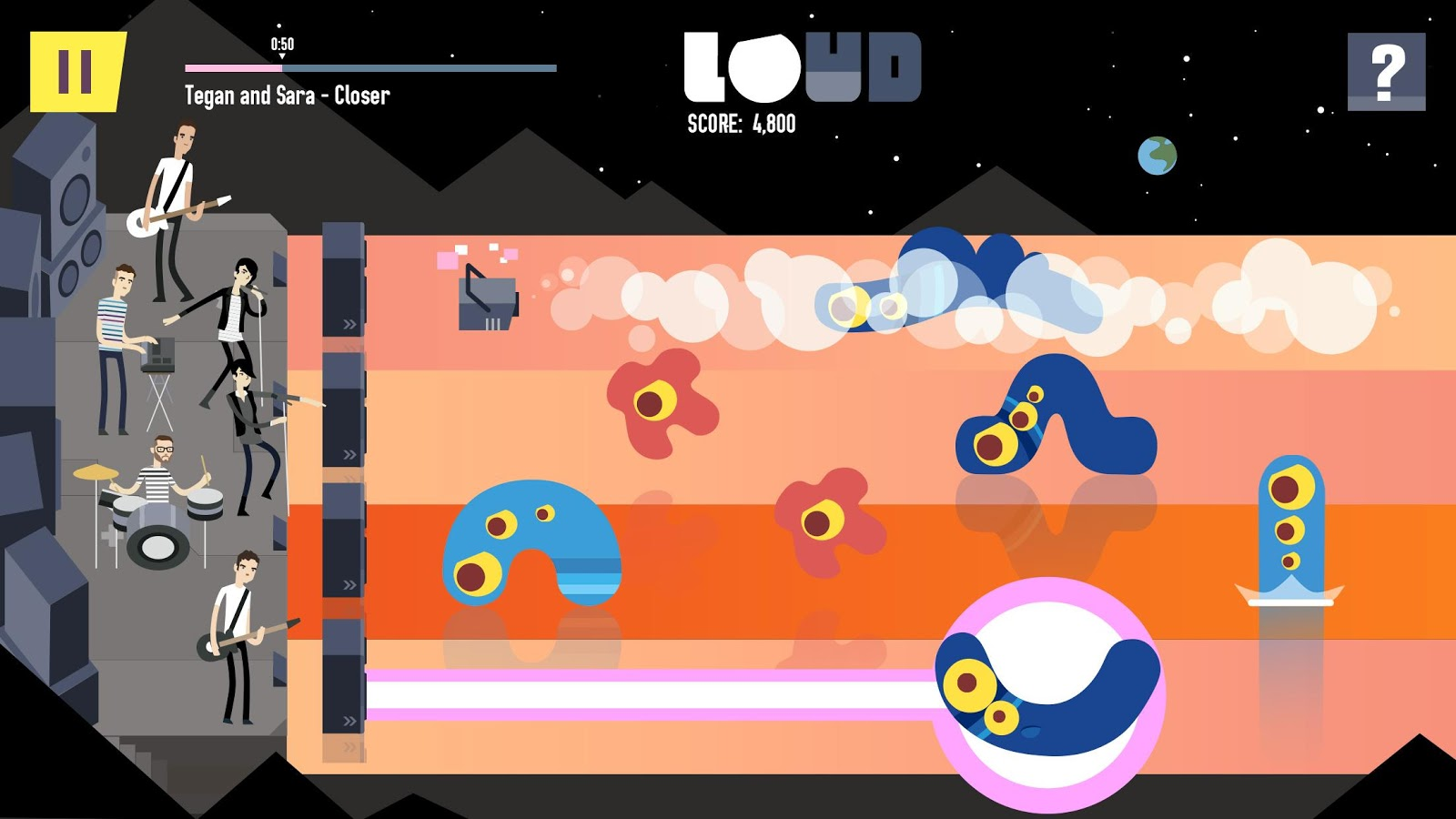 LOUD on Planet X Screenshot 0