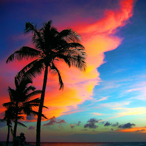Aruba Sky by Ray Hepworth - Landscapes Sunsets & Sunrises