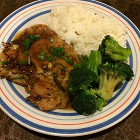 Chicken Egg Foo Yung And Garlic Bok Choy Recipe — Dishmaps