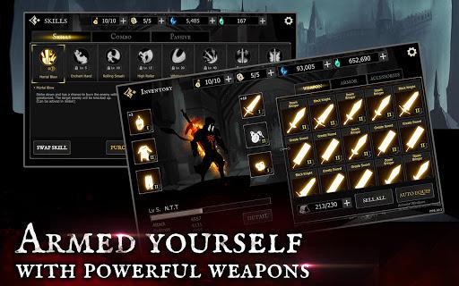 Shadow of Death: Dark Knight - Stickman Fighting screenshot 21