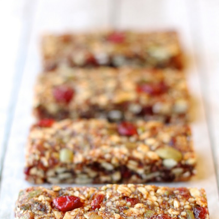 Fruit and Seed Granola Bars Recipe | Yummly