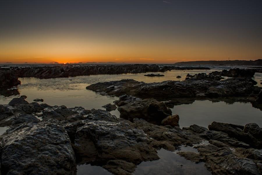 Milfontes by Adriano Freire - Nature Up Close Rock & Stone ( praia, milfontes, stone, mar, rock, por do sol )