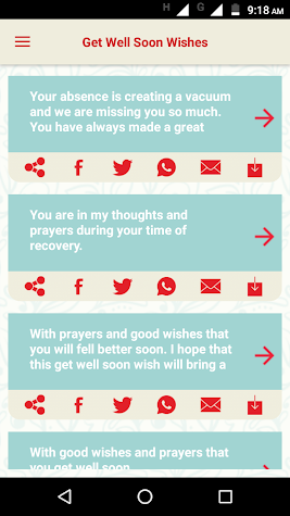 Get Well Soon Greetings - Add Text on Wishes card Screenshot