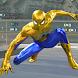 飛行スーパーヒーロースパイダーシティ生存