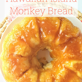 Hawaiian Island Monkey Bread