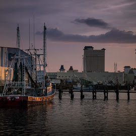 Subtle Light by Ron Maxie - Transportation Boats