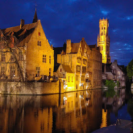 Brugges by Mihai Popa - City,  Street & Park  Historic Districts