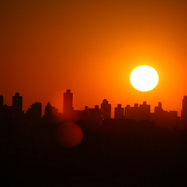 Ball of fire... by Alec Halstead - City,  Street & Park  Skylines